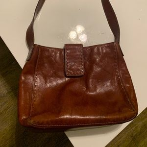 Women's Brown Leather Purse